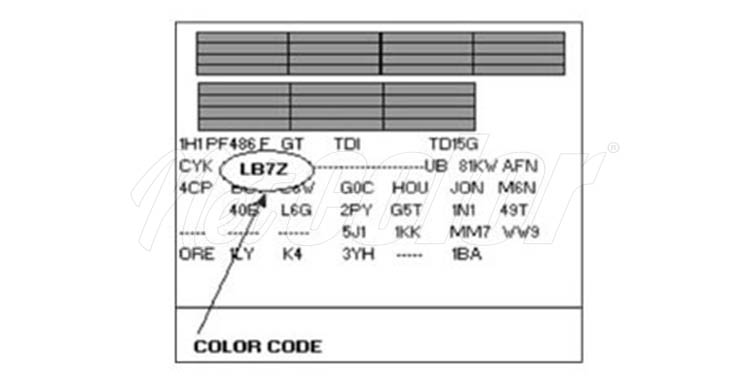 stylo retouche volkswagen code couleur et kit de. Black Bedroom Furniture Sets. Home Design Ideas